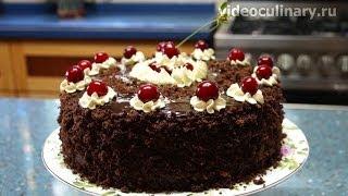 Торт Пьяная вишня - Рецепт Бабушки Эммы