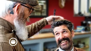 "Fixing a ""Black Hole"" Haircut with Carlos & Mahesh (Good Times at the Barbershop)"