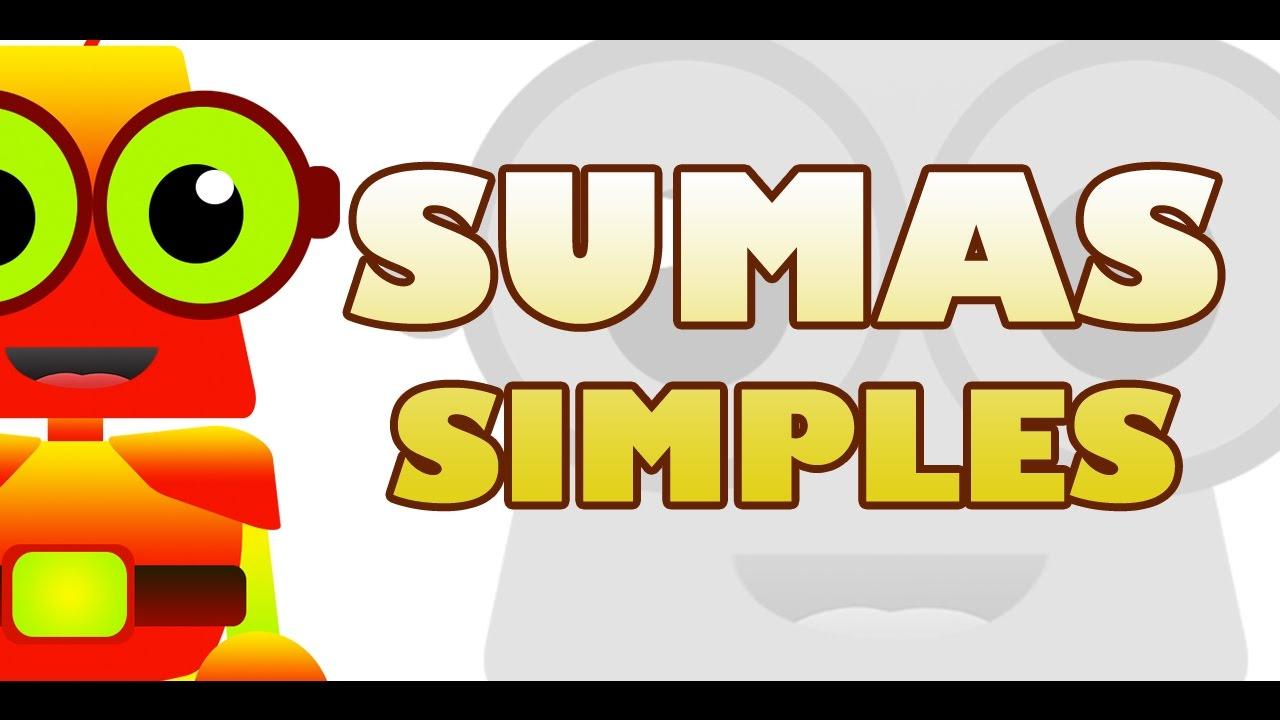 APRENDE CON EDU - SUMAS SIMPLES