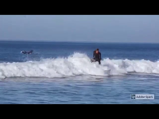 Surfing Lower Trestles California