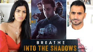 BREATHE - INTO THE SHADOWS REACTION!!! | Abhishek Bachchan | Amit Sadh