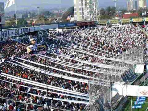 """SALIDAS GARRA BLANCA."" Barra: Garra Blanca • Club: Colo-Colo"