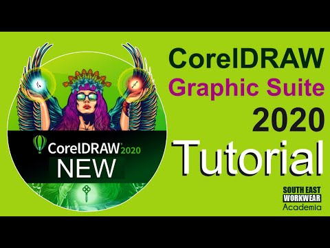 CorelDRAW 2020 - Full Tutorial for Beginners plus the Brand New Features
