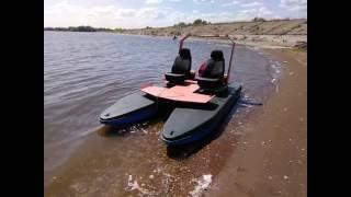 Катамараны своими руками для ловли рыбы