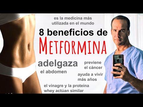 Bajar de peso con metformina (sin los efectos secundarios)