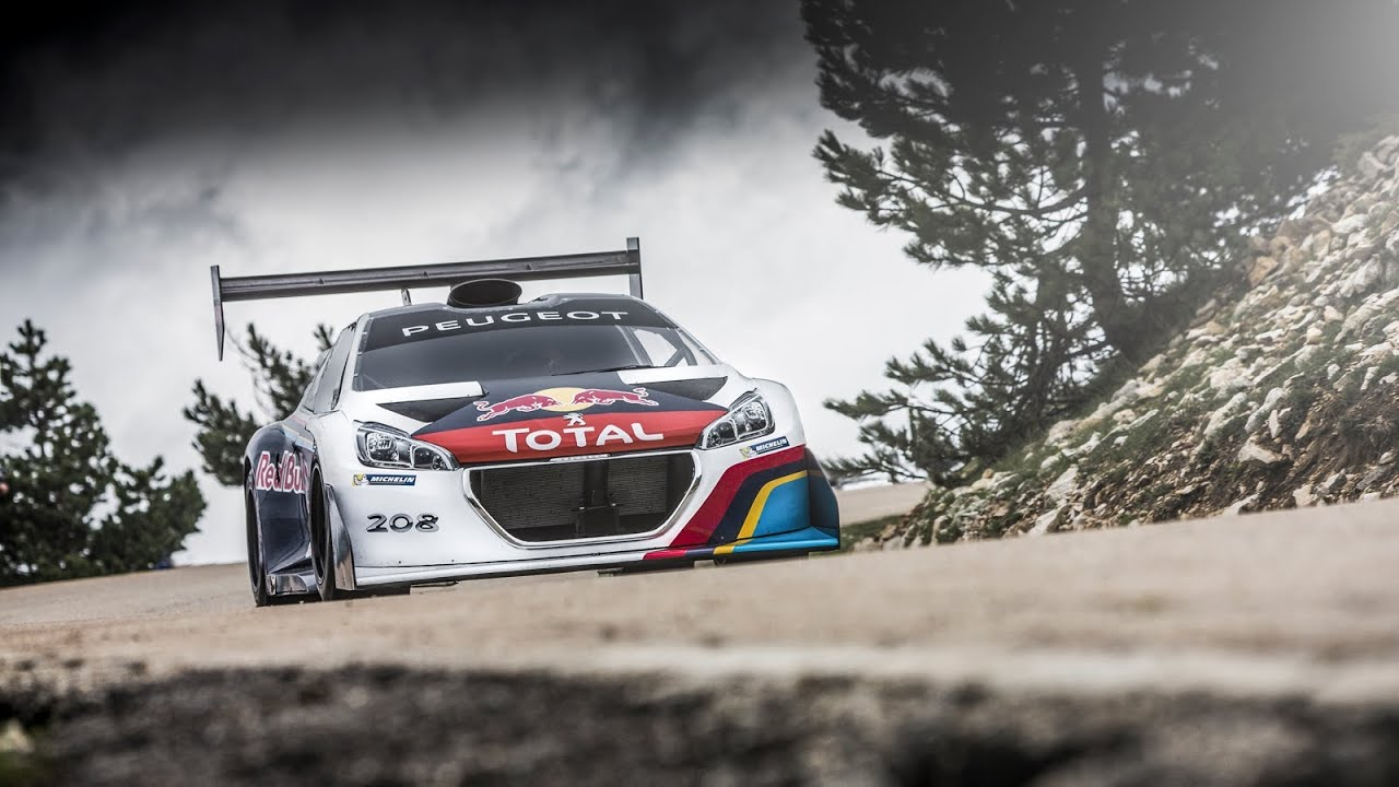 This Decked Out Peugeot Is A Hill-Climbing Beast