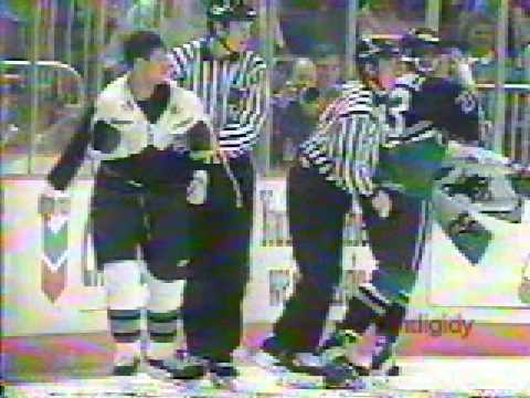 Owen Nolan vs. Jason Marshall