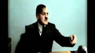 Reupload: Hitler is experiencing speech problems