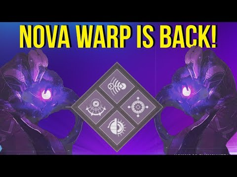 Nova Warp Is BACK! Update 2.2.1 Destiny 2 Arc Week