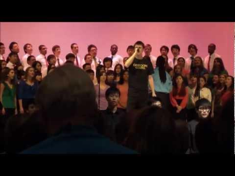 Total Praise - UO Gospel Singers, soloist Jameson Tabor, 2012