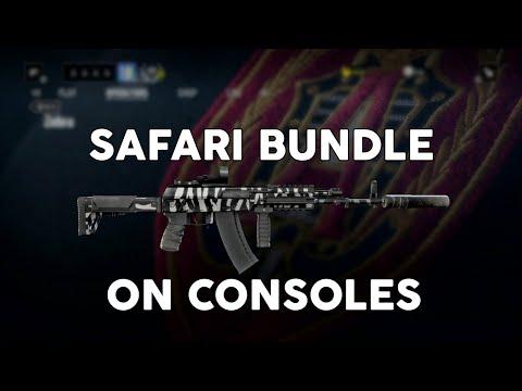 How to Download Rainbow Six Siege Safari Bundle on Consoles! Rainbow Six Siege Season Pass Skins!