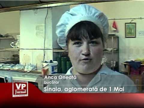 SINAIA, AGLOMERATA DE 1 MAI