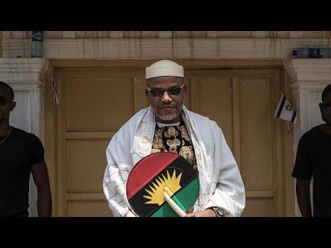 Nigeria : le procès du leader séparatiste biafrais Nnamdi Kanu ajourné Nigeria : le procès du leader séparatiste biafrais Nnamdi Kanu ajourné