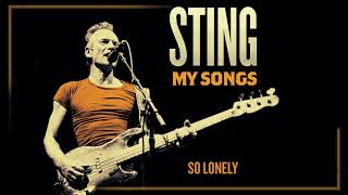 Sting   So Lonely (Audio)