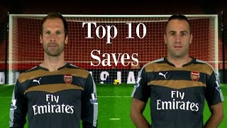 Download Video Petr Čech & David Ospina - Top 10 Saves 2015/16 [HD] MP3 3GP MP4