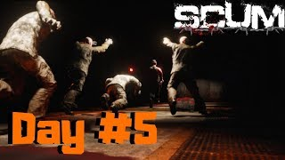 SCUM INFORMATION DAY #5 SKILLS & STATS - PART 1! EVERYTHING YOU NEED TO KNOW!