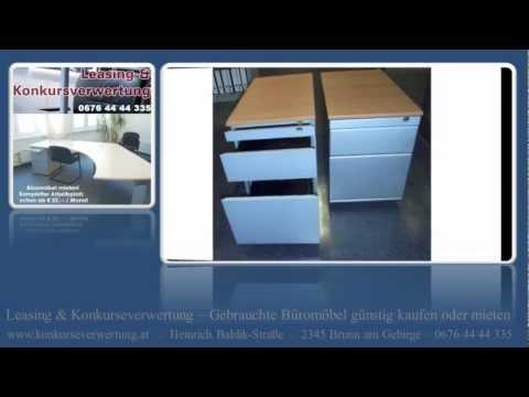 Gebrauchte Rollcontainer Wien - Schreibtisch-Büro-Rollcontainer Wien