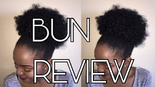 Synthetic Bun Hairpiece Review||AliExpress
