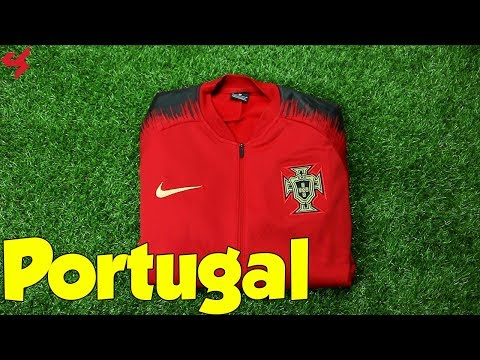 World Cup 2018 Nike Portugal Anthem Jacket Unboxing + Review