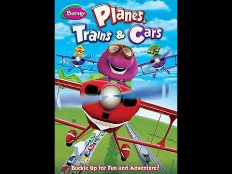 Opening To Barney:Planes,Trains,& Cars 2014 DVD