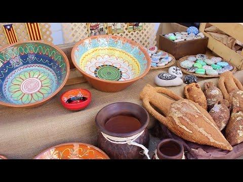 Feria gastronómica  payesa de la Candelera a Molins de Rei, Barcelona