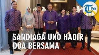 Sandiaga Uno Hadir dalam Acara 40 Hari Ani Yudhoyono