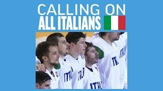 Team Presentation Italy   #IIHFWorlds 2019