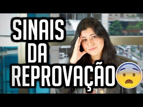 SINAIS DA REPROVAÇÃO NO PROCESSO SELETIVO