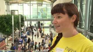 preview picture of video 'Open Days at the University of Exeter'