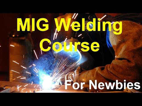 MIG Welding Course And How To MIG Weld Square Tubing