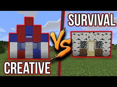 DŮM V SURVIVALU VS DŮM V CREATIVU !!! - #2 w/McCitron + JEHO POHLED