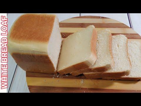 Jinsi ya kutengeneza mkate wa slices / slesi mlaini sana / White bread loaf