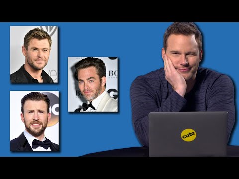 "Chris Pratt Takes BuzzFeed's ""Which Famous Chris Is Your Soulmate?"" Quiz"