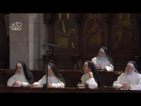 Prière du Milieu du jour du 22 juillet 2021 des Bénédictines du Sacré-Coeur de Montmartre
