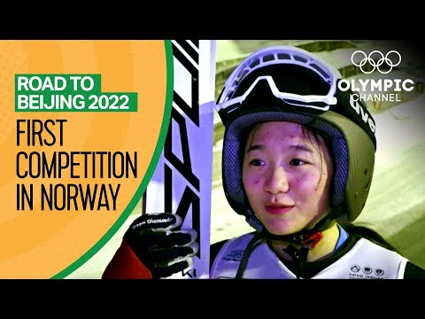 Chinese Ski Jumping hopefuls compete for their first time! | Road to Beijing 2022