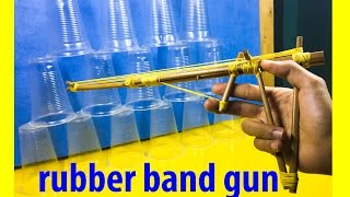Rubber Band Gun How To Make - how to make rubber band gun with chopsticks