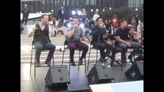 Microphone - 98 Degrees - Montreal 2013