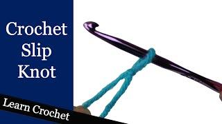 Crochet Slip Knot - Beginner Course: Lesson #4