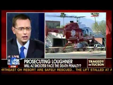 Meg Strickler on Fox News Channel 1/16/11 discussing Jared Loughner and Gabrielle Giffords
