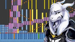 [Black MIDI] Synthesia – Undertale - Hopes and Dreams & SAVE the World 60,000 ~ BusiedGem