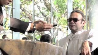 início do espetáculo Macumba Antropófaga - Oswald de Andrade e Tarsila do Amaral, apresentado em Inh