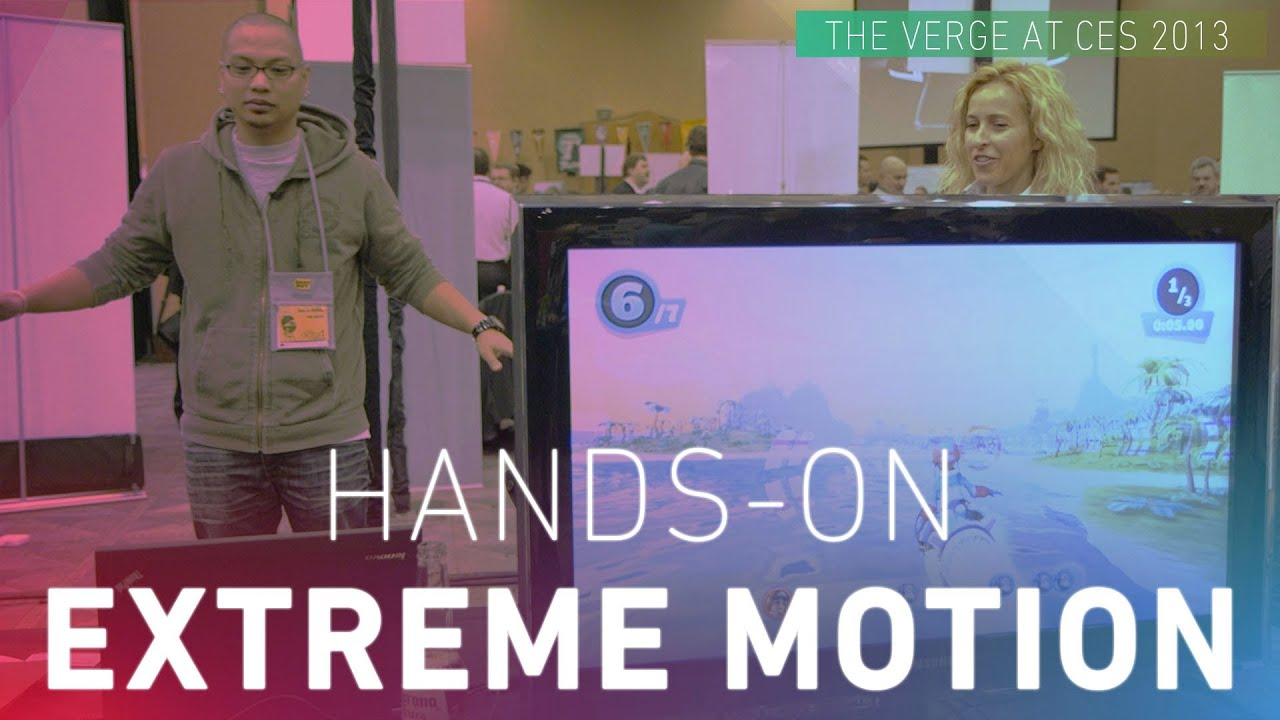 ExtremeReality Extreme Motion Hands-on thumbnail