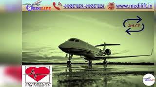 Enhanced Medical Support for Patient by Medilift Air Ambulance