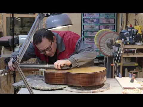 Основательный ремонт классической гитары. Замена деки.