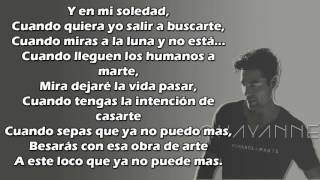 Humanos a Marte - Chayanne (Letra)¡¡¡¡¡