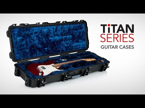 TiTAN Series Guitar and Bass Cases (Dust/Impact/Water Proof)