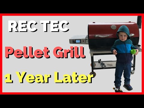 Rec Tec Pellet Grill Review – 1 Year Later