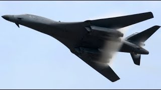 BREAKING USA B-1 bombers Bombing Multiple Syrian Military targets in Syria April 13 2018 News