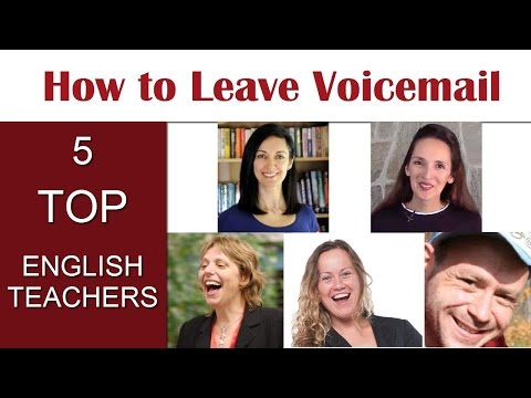 How to Leave Voicemail in English: Tips from 5 Top Teachers