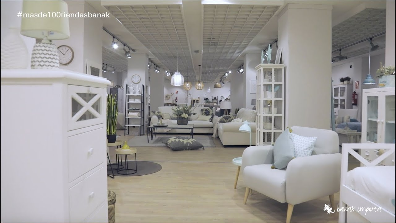 Tienda de muebles Badajoz Banak Importa